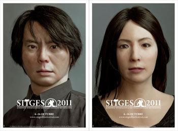 Sitges 2011/Ishiguro: robots amb aparença humana