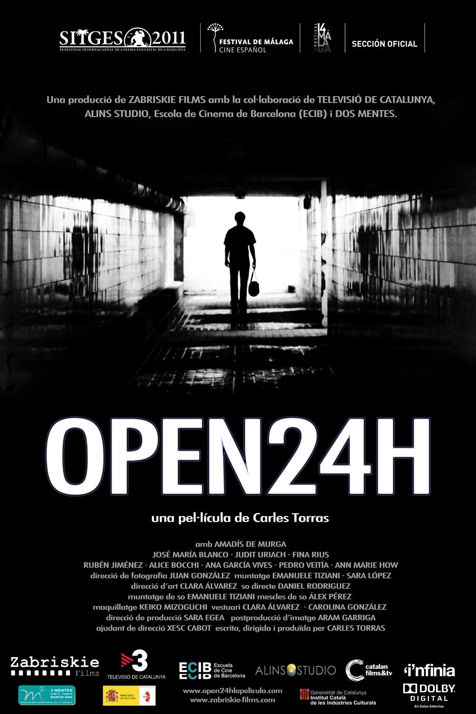 ESTRENA OPEN 24H – UN FILM DE CARLES TORRAS