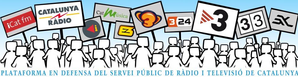 Apareix una plataforma en defensa dels mitjans públics