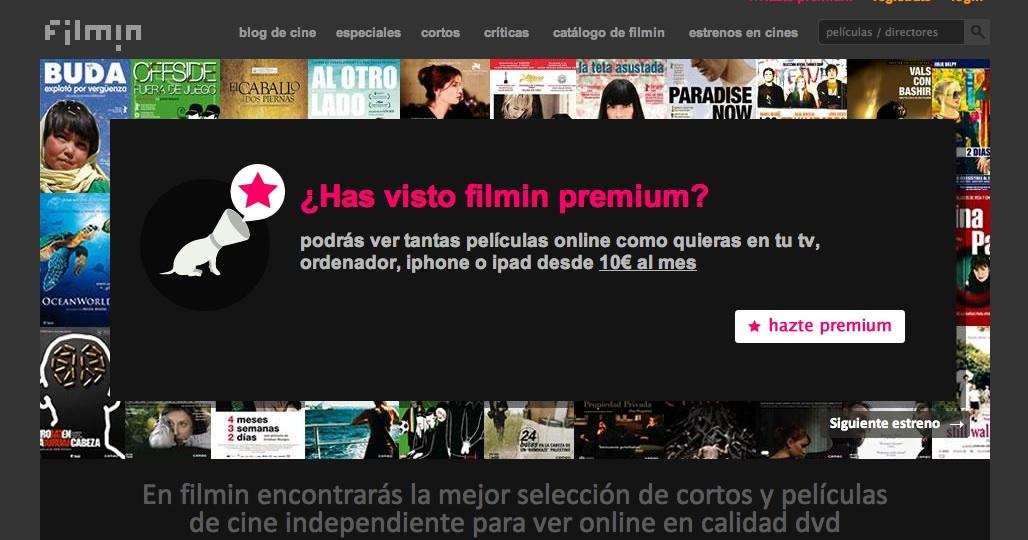 FILMIN: CINEMA INDEPENDENT ONLINE