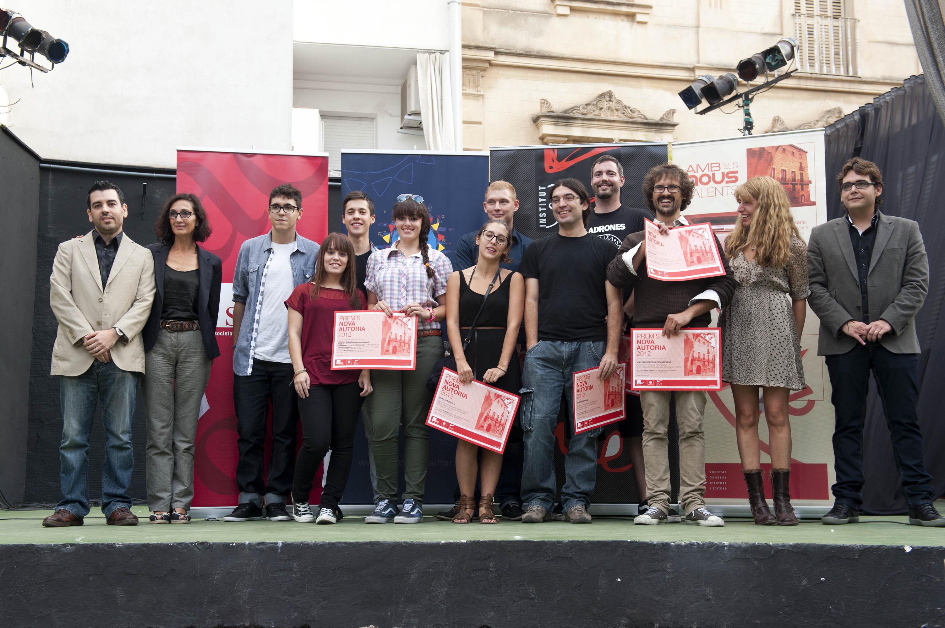 Treballs del CECC i ECB als Premis Nova Autoria de Sitges 2012