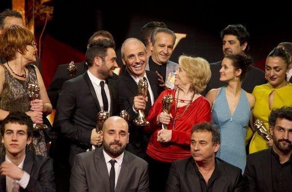 Entrega dels V Premis Gaudi