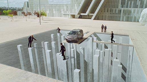 Il·lusions òptiques al darrer anunci d'Honda
