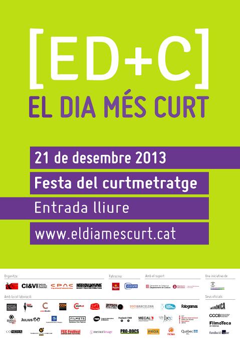 Dissabte 21 a les 13,30: Lectura del Manifest del Curt a Santa Mònica