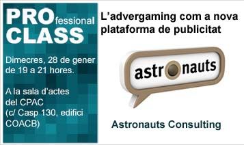 ::AJORNADA 05/02:: PROCLASS: L'advergaming com a nova plataforma de publicitat