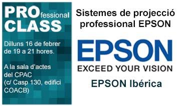 ::16/02:: PROclass: Sistemes de projecció professional EPSON