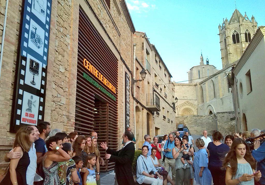 S'inaugura un espai museístic que homenatja Josep Maria Queraltó