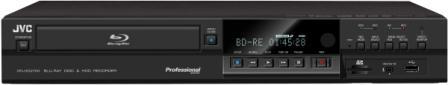 JVC anuncia un nuevo grabador profesional con grabación simultánea Blu-ray+HDD y múltiples interfaces de entrada para integración en cualquier entorno