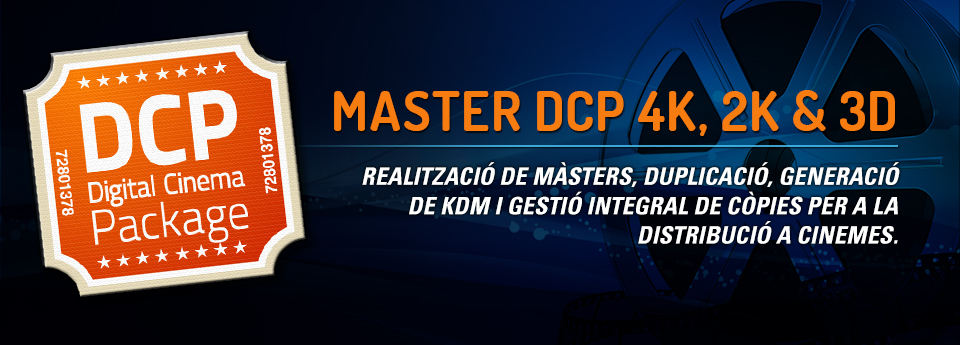 OFERTA VIDEOLAB MASTER DCP 4K, 2K & 3D