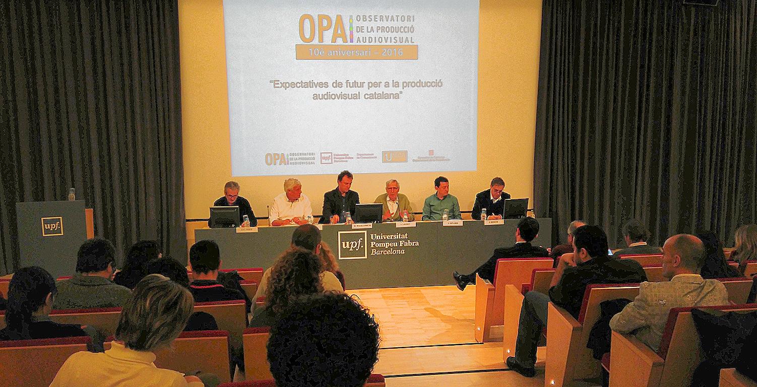L'OPA analitza el present de la producció audiovisual catalana i apunta els seus reptes de futur
