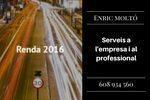 ENRIC MOLTÓ, RENDES 2016