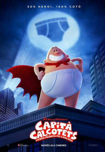 """La pel·lícula d'animació """"Capità Calçotets"""" s'estrena en català"""