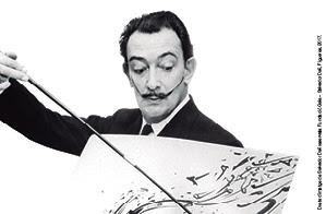 """Dalí, Breaking News"" al Palau Robert"
