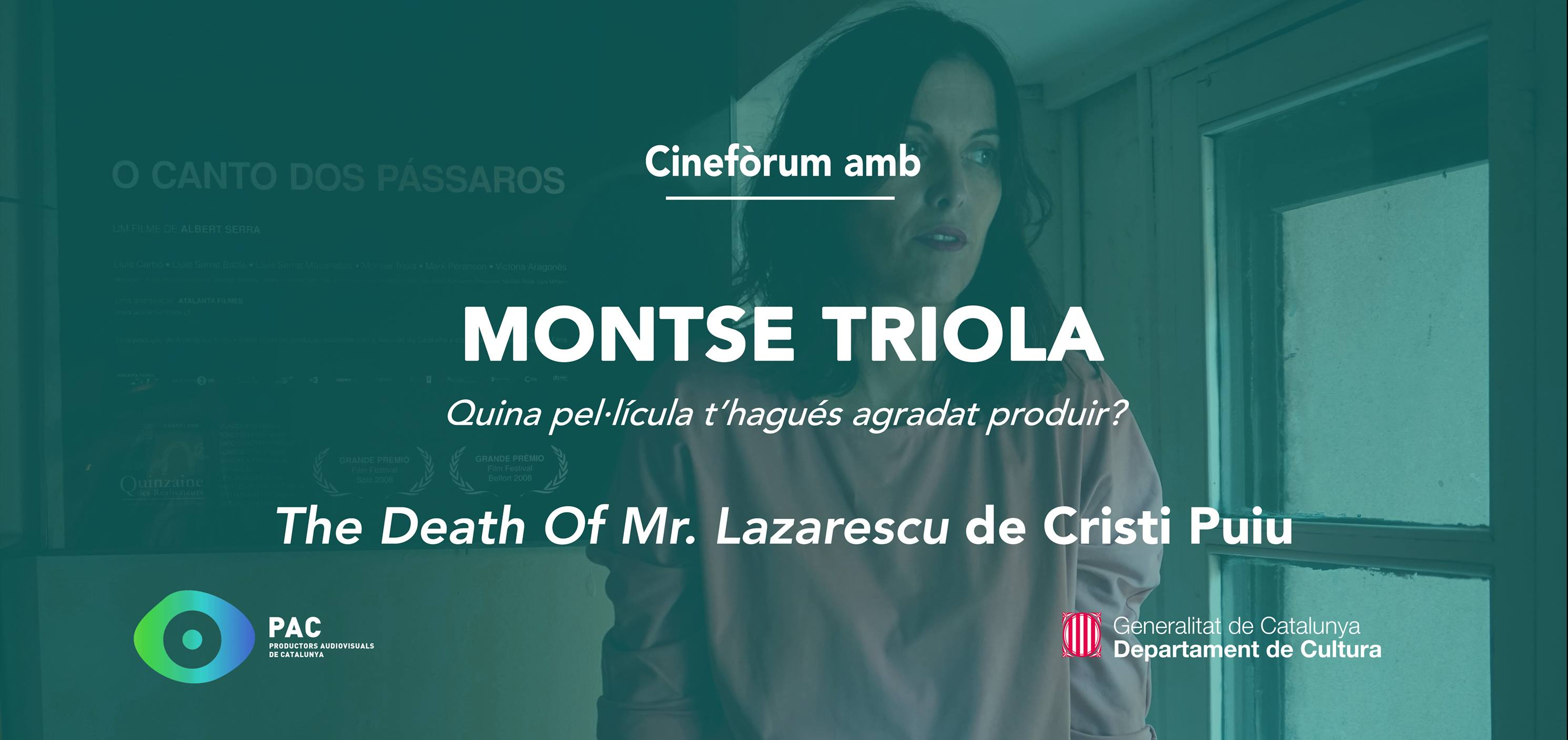 "Cinefòrum de la comèdia dramàtica romanesa ""The Death of Mr. Lazarescu"" amb Montse Triola"