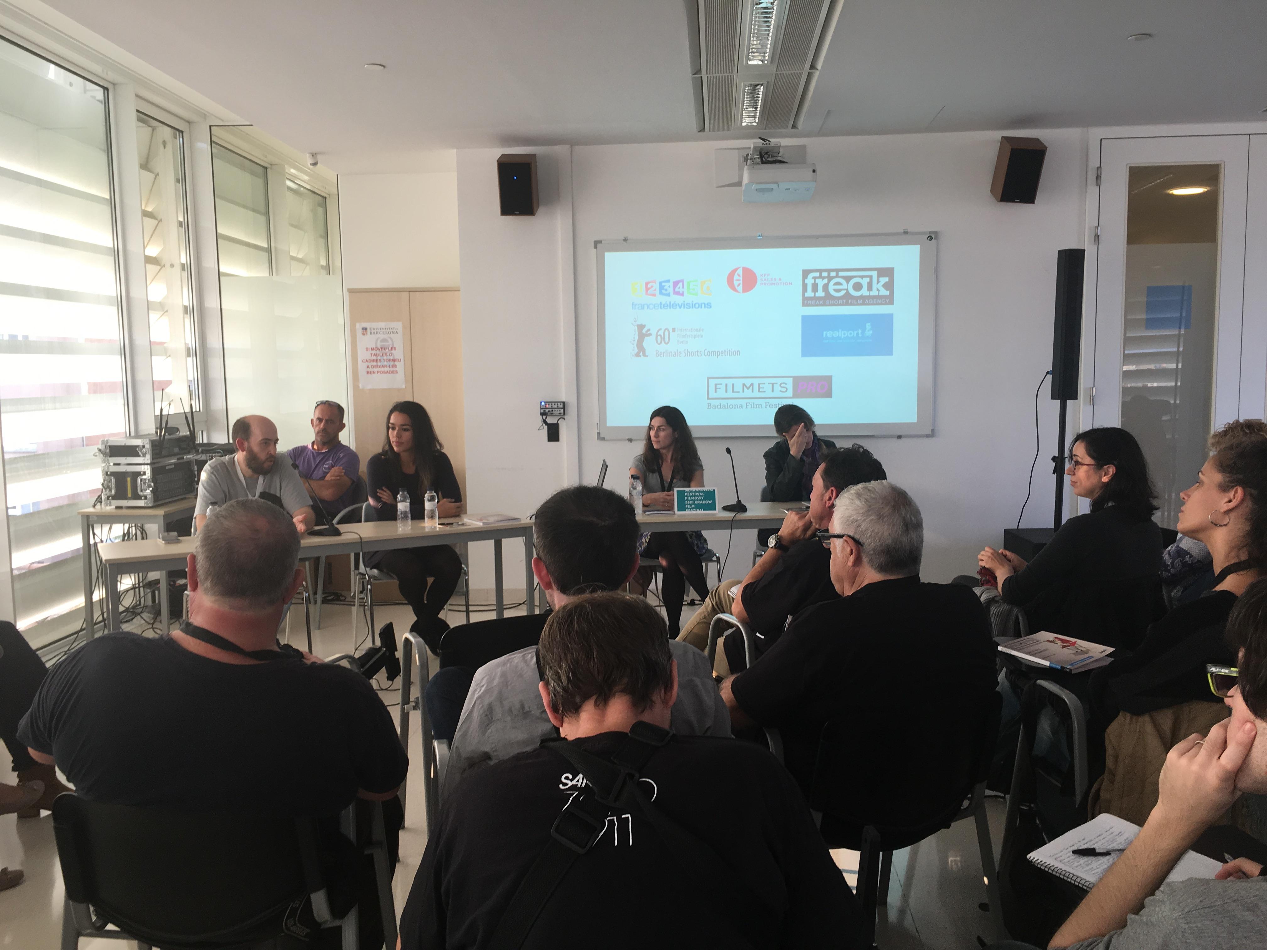 Filmets: Badalona Film Festival – distribució de curtmetratges