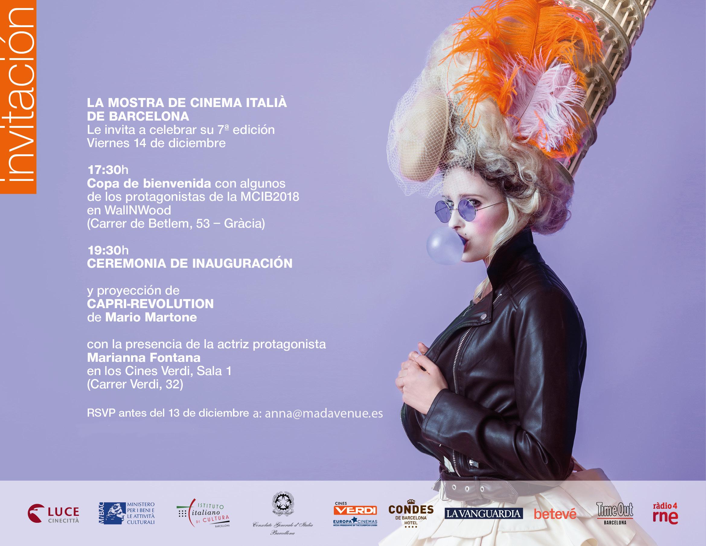 FINS EL 18-DES:  MOSTRA CINEMA ITALIÀ