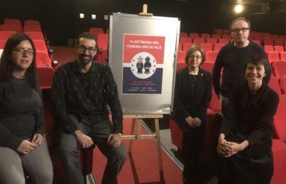 Del 16 al 20 de gener Setmana del Cinema en Català