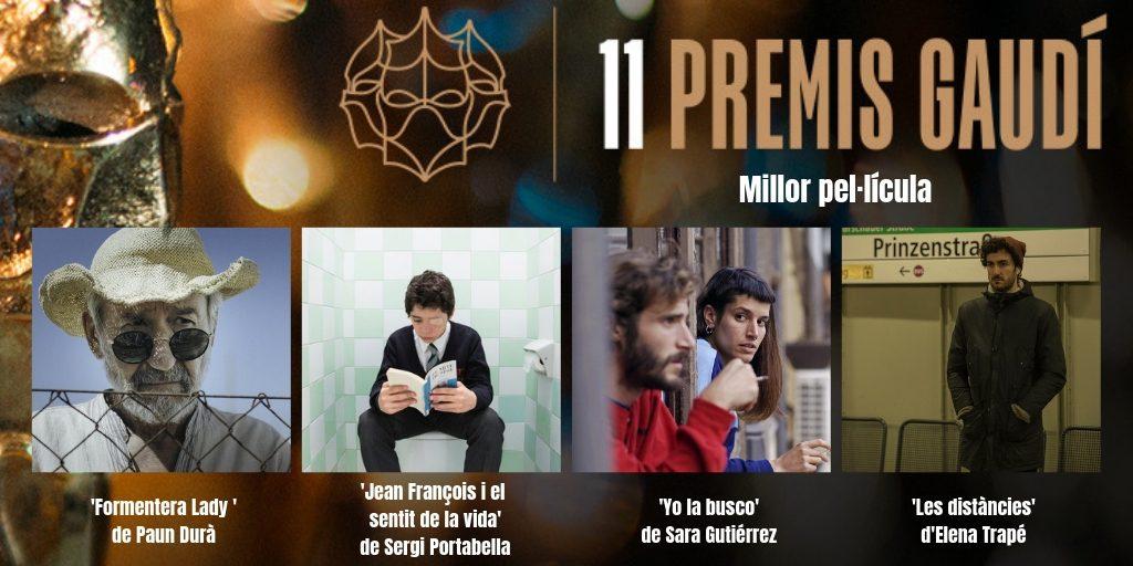 Gaudí: La llista de premiats