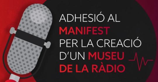 El manifest en favor de la creació d'un Museu de la Ràdio ja supera les 400 signatures
