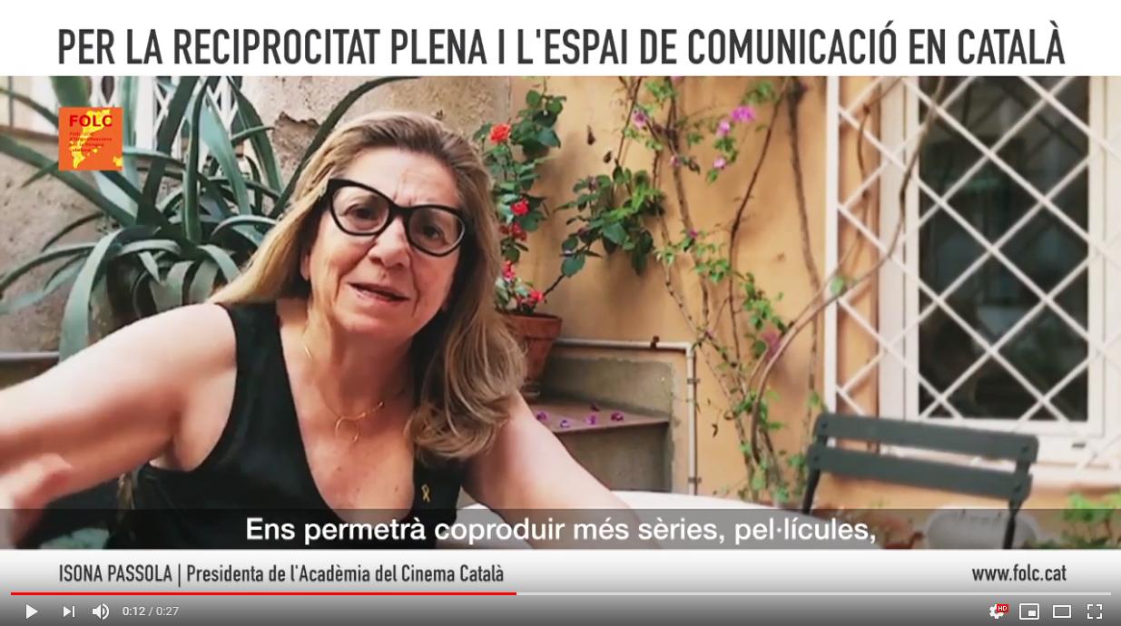 """Arrenca la campanya """"Per la reciprocitat plena i l'espai de comunicació en català"""""""