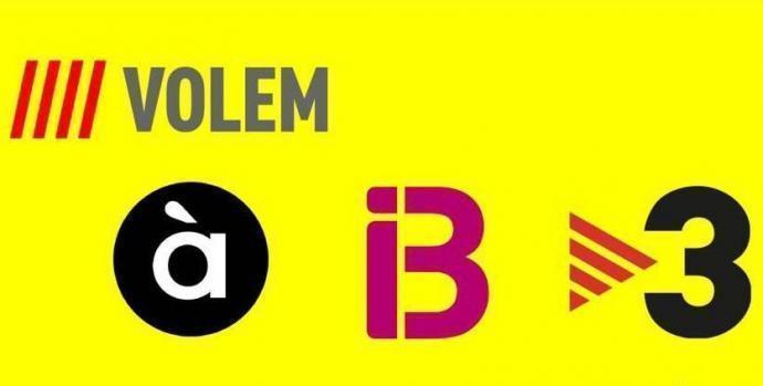 Presentació de la campanya per la reciprocitat dels mitjans audiovisuals en català