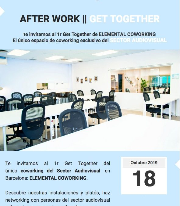 "Dv 18/10: Networking After Work a ""Elemental Coworking"""