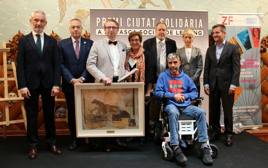 """Premis """"Ciutat Solidària"""" a dues entitats socials catalanes"""