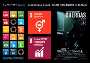 """16/1/20: Forum Igualtat de la dona i projecció de """"Cuerdas"""""""