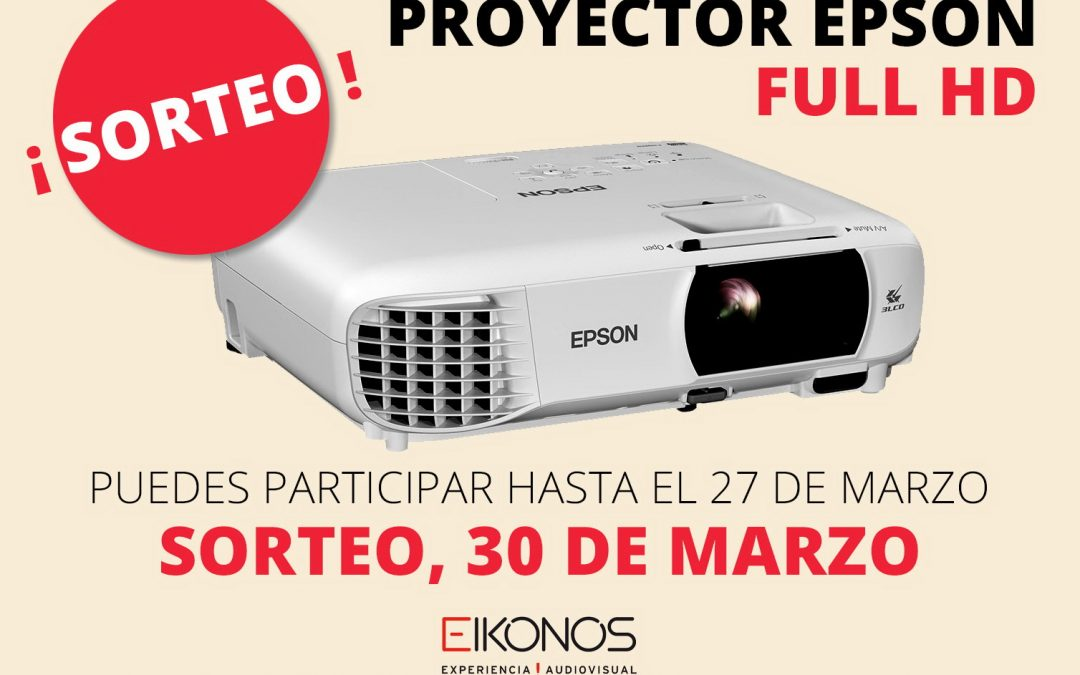 Eikonos sortea un proyector EPSON Full HD