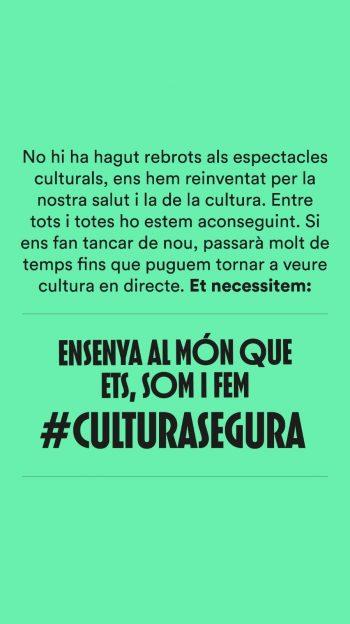 SALVAR LA CULTURA: #LACULTURAESSEGURA