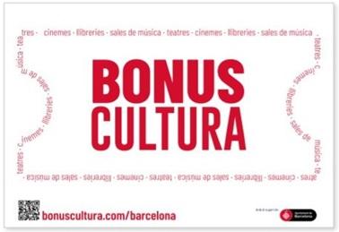"""""""Bonus Cultura"""" : l'aposta per la Cultura """"post-confinament"""" de l'Ajuntament de Barcelona"""