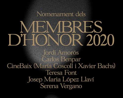 L'Acadèmia anomena els Membres d'Honor d'enguany