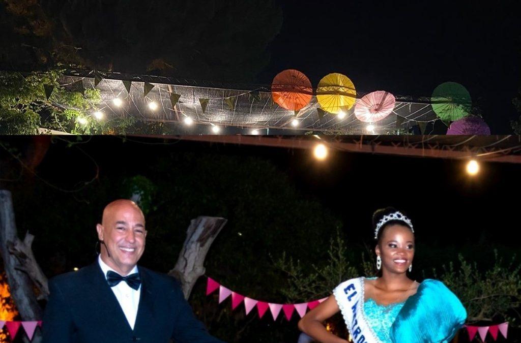 Una belleza de raza negra logra la corona del Rostro Más Bello de Barcelona