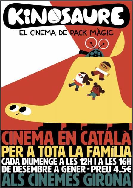 Kinosaure: cada diumenge als cinemes Girona de Barcelona