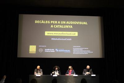 La Plataforma per la Llengua i les principals entitats de l'audiovisual reclamen als partits que apliquin 10 mesures per normalitzar i enfortir el sector en català