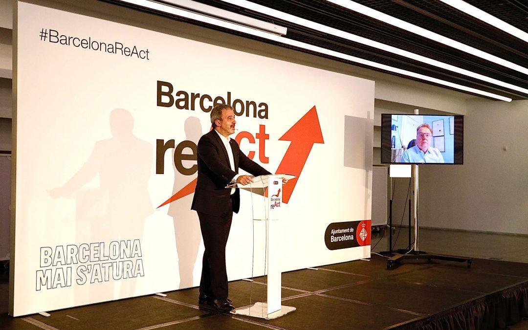 Barcelona engega la reactivació, a través d'unes Jornades de  Treball