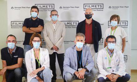 L'Hospital Germans Trias i Badalona Comunicació signen un acord de col·laboració pel qual el centre sanitari es converteix en seu oficial de FILMETS Badalona Film Festival