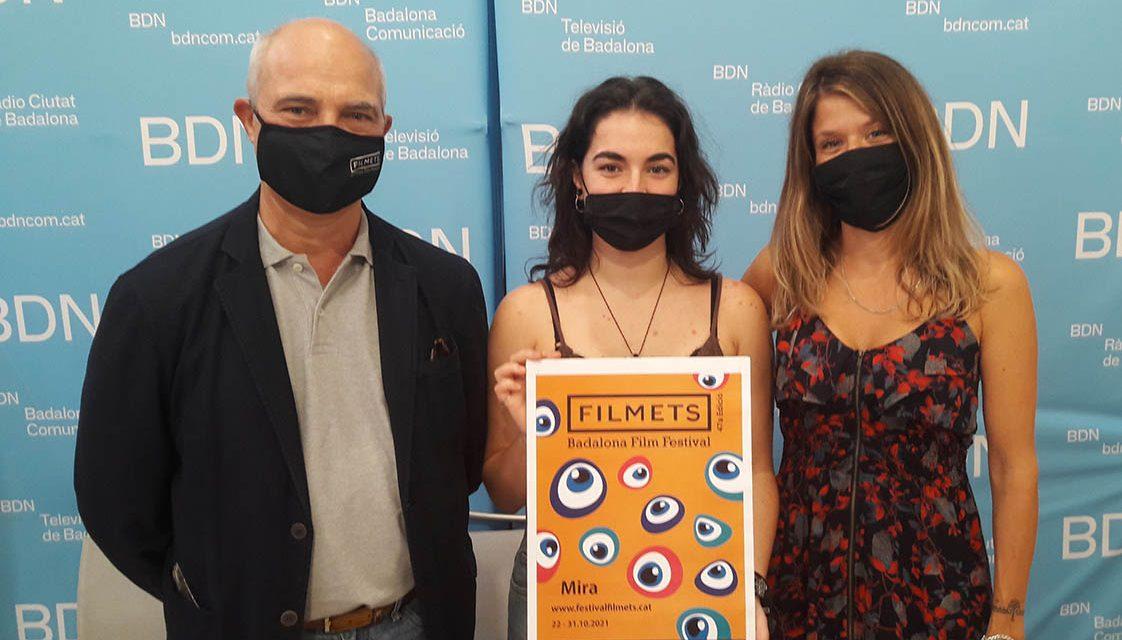 El cartell de la 47a edició de FILMETS Badalona Film Festival és d'Alexandra López Tomás, alumna de l'Escola d'Art Superior de Disseny Pau Gargallo de Badalona