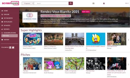 Le Rendez Vous de Biarritz: l'aparador de l'audiovisual francès torna a celebrar-se virtualment