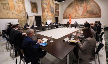 FRONT COMÚ DEL GOVERN AMB LES ENTITATS SECTORIALS A FAVOR DEL CATALÀ A L'AV.